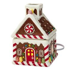 PartyLite SCENTGLOW® WARMER – ICED GINGERBREAD