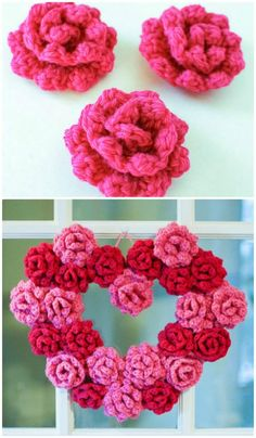Crochet Rose Pattern - 94 Free Crochet Patterns for Valentine's Day Gifts - Page 3 of 4 - DIY & Crafts
