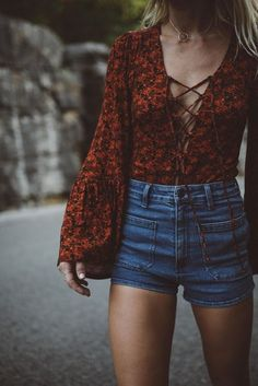 7 Lace-Up Tops Perfect For Summer | http://www.hercampus.com/style/7-lace-tops-perfect-summer