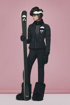 Collection de ski Fendi automne-hiver 2016 2017 Veste Ski Femme 32a279869b9