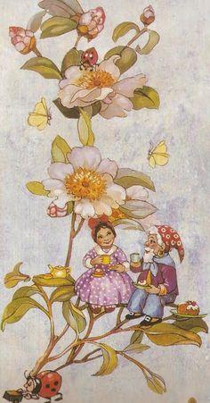 Faeries and Little Folk: Peg Maltby's Fairy Folk Fairy Paintings, Vintage Fairies, Fairytale Art, Beautiful Fairies, All Nature, Flower Fairies, Fairy Art, Magical Creatures, Faeries
