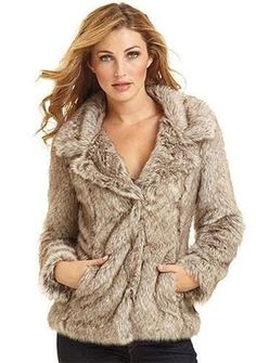 Coffeeshop Fur Coat Size Small Santa Fe Apparel Alloy Forever 21 Juniors NWOT in Clothing, Shoes & Accessories | eBay