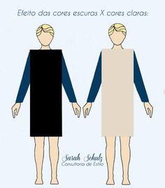 ** Percebam a diferença entre a boneca de vestido claro X escuro.  A boneca da…