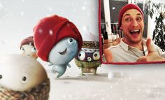 Let's play fill in the blank :) Dominik aka Duck Stitch looks very happy because____________________________ :)