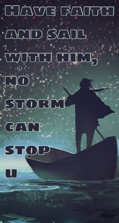Storm surrenders to faith....