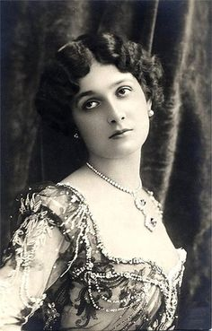 "Natalina ""Lina"" Cavalieri was an Italian opera soprano singer, actress, and monologist. Born: December 25, 1874, Viterbo, Italy Died: February 7, 1944, Florence, Italy"
