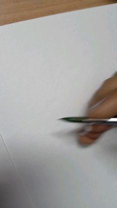 Gouache Painting, Diy Painting, Watercolor Paintings, Watercolours, Watercolor Heart, Watercolor Flowers, Watercolor Beginner, Diy Artwork, Diy Canvas Art