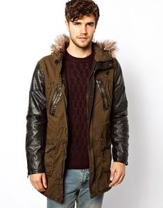Discover the latest fashion and trends in menswear and womenswear at ASOS. Shop this season's collection of clothes, accessories, beauty and more. Asos Online Shopping, Latest Fashion Clothes, Parka, River Island, Military Jacket, Cool Style, Women Wear, Bomber Jacket, Mens Fashion