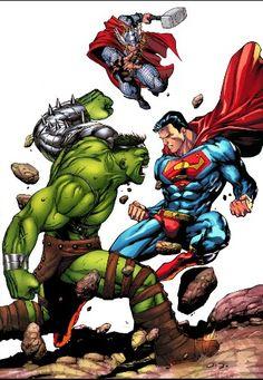 World Breaker Hulk Vs Superman
