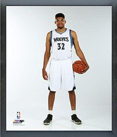 39ed691d6d7 KarlAnthony Towns Minnesota Timberwolves 2015 NBA Posed Photo Size 17 x 21  Framed     Be sure to check out this awesome product.