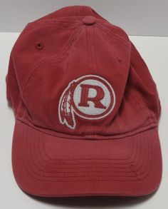 97e1019bf95 Washington Redskins Vintage Reebok Collection NFL Football Hat Cap Adult  L XL  Reebok  WashingtonRedskins