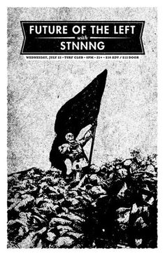 GigPosters.com - Stnnng - Future Of The Left ::: Poster by Aesthetic Apparatus ::: www.dutchuncle.co.uk