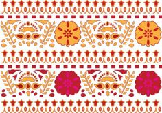 Beautiful Indian Pattern Seamless Background - http://www.welovesolo.com/beautiful-indian-pattern-seamless-background/