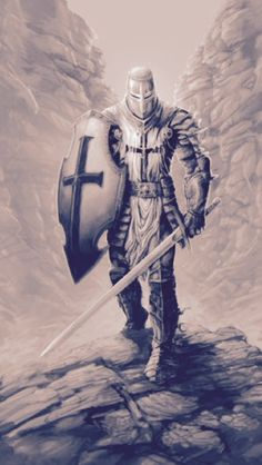 Tattoos Discover m Paladin Plate Armor Shield Helm Sword hills rough midlvl Fantasy Kunst Fantasy Art Fantasy Sword Warrior Tattoos Angel Warrior Tattoo Crusader Knight Christian Warrior Armadura Medieval Knight Art Fantasy Warrior, Fantasy Art, Fantasy Sword, Body Art Tattoos, Sleeve Tattoos, 3d Tattoos, Tattoo Ink, Archangel Tattoo, Warrior Tattoos