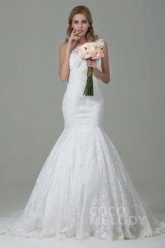 vestido de novia a sirena cocomelody