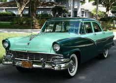 1956 Ford Town Sedan - Google Search