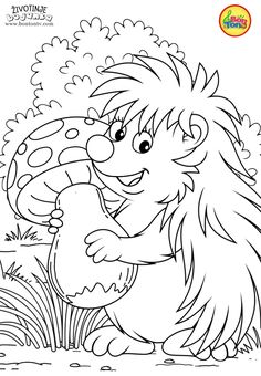 Animals Coloring Pages for Kids - Free Preschool Printables - Životinje Bojanke - Animal Coloring Books by BonTon TV Stitch Coloring Pages, Spring Coloring Pages, Cute Coloring Pages, Flower Coloring Pages, Animal Coloring Pages, Free Printable Coloring Pages, Adult Coloring Pages, Coloring Books, Coloring Sheets For Kids