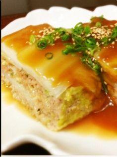 白菜とひき肉の重ね蒸し by haruるんるん♪ [クックパッド] 簡単おいしいみんなのレシピが223万品