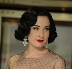 How to get Dita Von Teese hair, straight from the source!