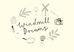 Logo design by Katt Frank for Windmill Dreams blog