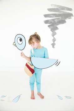 Creative children's book costumes for the whole fam