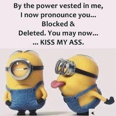 28 ideas funny love quotes minions so true Funny Minion Pictures, Funny Minion Memes, Minions Quotes, Minion Sayings, Minions Pics, Minions Friends, Evil Minions, Funny Shit, Funny Love