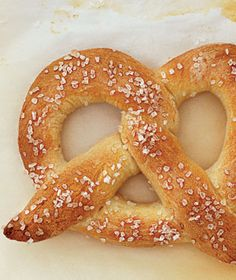 Easy Homemade Soft Pretzels from Real Simple