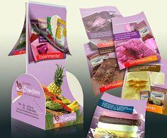 Mstudio Comunicação e Merchandising: Display de mesa com cardápio de sobremesa gelada d...