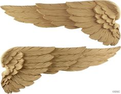 angel wings interior decor ornament  Decorators Supply Corporation