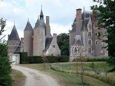 Château du Moulin, à Lassay