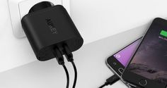 [Test] Chargeur secteur USB Quick Charge 3.0 – Aukey