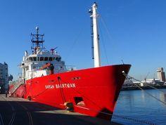 Sarah Baartman ship in the Port of Cape Town