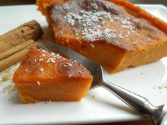 Douceur de patate aux épices  VEGAN CANNELLE GINGEMBRE SANS ŒUFS NI LAIT PATATES DOUCES LAIT DE COCO