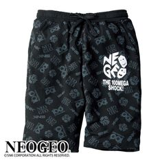Show your NeoGeo love with NeoGeo shorts   These are 100% official but they're only available in Japan right now. That's too bad as I'd definitely rock a pair of these! Let's hope an import retailer picks them up soon.  from GoNintendo Video Games