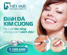 Giá đính kim cương thẩm mỹ tại nha khoa quốc tế Việt Đức
