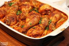 B Food, Polish Recipes, Chicken Wings, Baking Recipes, Shrimp, Food And Drink, Turkey, Menu, Dinner