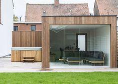 Moderne relaxruimte - Woodarts