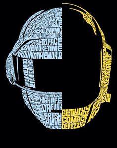 Retratos tipográficos de iconos del pop realizados por Sean Williams