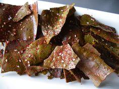 Crispy Kelp Appetizer (Korean) | Kitchen Garden Recipes Healthy Korean Recipes, Vegan Korean Food, Vegan Recipes, Korean Kitchen, Korean Dishes, Going Vegan, Cravings, Food Porn, Appetizers