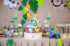 Doğum günü partisi / AFRICAN SAFARI PARTY