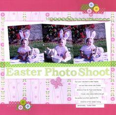 Easter Photo Shoot - Scrapbook.com