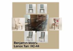 """""""Linen Blue and Natural Grace chairs"""" Olioboard"""