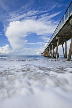 The iconic Hermosa Beach Pier courtesy @BoBridges. Check out his site here: http://www.bobridges.com
