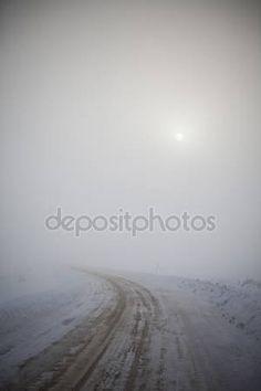 Zimowych drogach — Zdjęcie stockowe © gemenacom #2184964