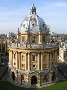 Places I have been - Oxford, England. Gorgeous architecture there. I lived 5 miles away.