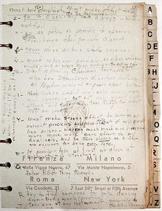 Four Famous New Year's Resolution Lists: Jonathan Swift, Susan Sontag, Marilyn Monroe, Woody Guthrie | Brain Pickings