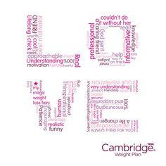 Love Cambridge Weight Plan