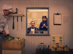 The Grand Budapest Hotel / Wes Anderson can find Cinematography and more on our website.The Grand Budapest Hotel / Wes And. Grand Hotel Budapest, Wes Anderson Films, Wes Anderson Style, Frame Within A Frame, Lobby Boy, Grande Hotel, Film Aesthetic, Cinemagraph, Design Your Life