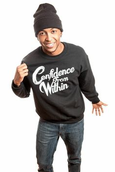 GLP Confidence From Within Crewneck Sweatshirt #ConfidenceFromWithin GLPFitness.com