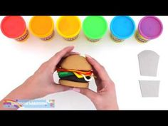 Play Doh Learn Colors Make a Happy Meal Fun & Creative for Kids RL